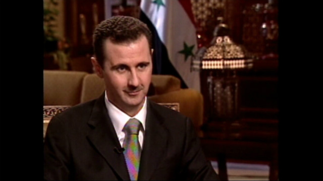 2005: Amanpour and Assad