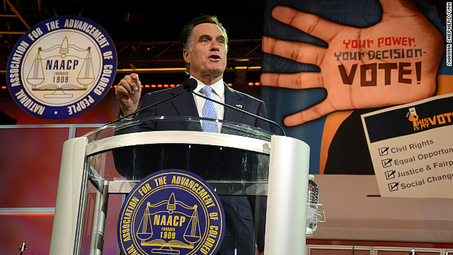 Romney enters political lion's den