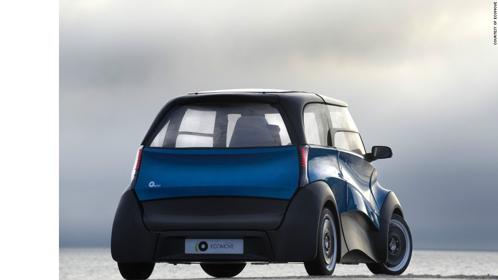 Using bio-methanol as a fuel source means that, unlike hydrogen fuel cell cars, the QBEAK could utilize traditional energy and distribution systems at relatively little extra cost, according to ECOmove.