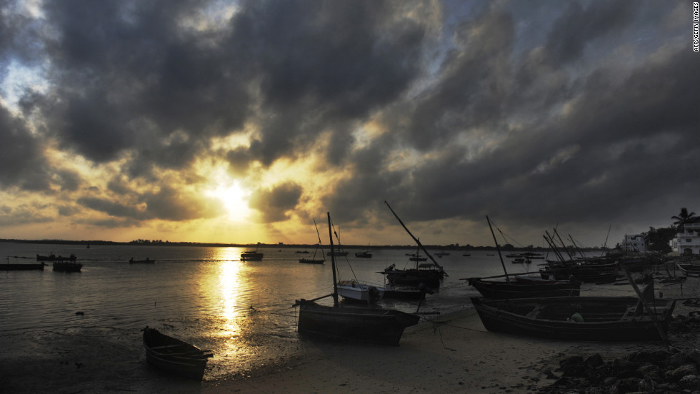 Costs for the project are expected to come in at around $20 billion although concerns remain over the development's impact on the likes of the Lamu Port area (pictured), which is listed as a UNESCO World Heritage site.