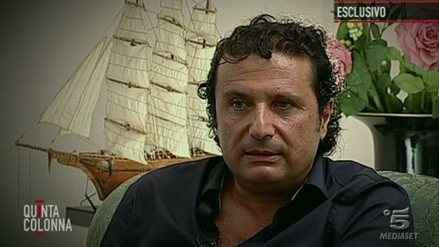 Concordia captain: Blames himself, others