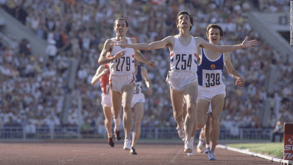 Olympic athletes endure a journey, and their stories either come to a brilliant finish or a crushing defeat. This shot is brilliant because it manages to encompass Seb Coe's journey and ultimate victory. Not only is it beautifully composed, with light falling on the faces of these runners as they close in on the finish, but it highlights their emotional human struggle as well. Arms outstretched and determination fighting through his entire body, Coe is forever in this moment. The frame before or after may not have encapsulated all of these factors in one shot, and that is why this one shines.