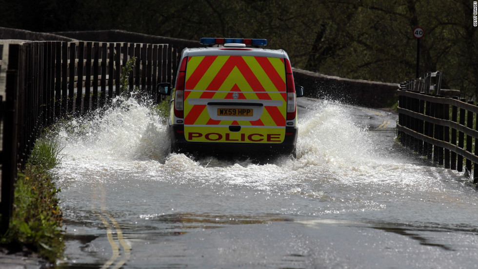 Many regions were officially in drought conditions during the spring, but the summer has seen flash floods up and down the country as the jet stream continues to direct stormy weather across the UK -- and  meteorologists predict this will continue.