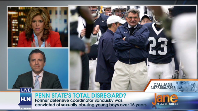 Penn State's total disregard?