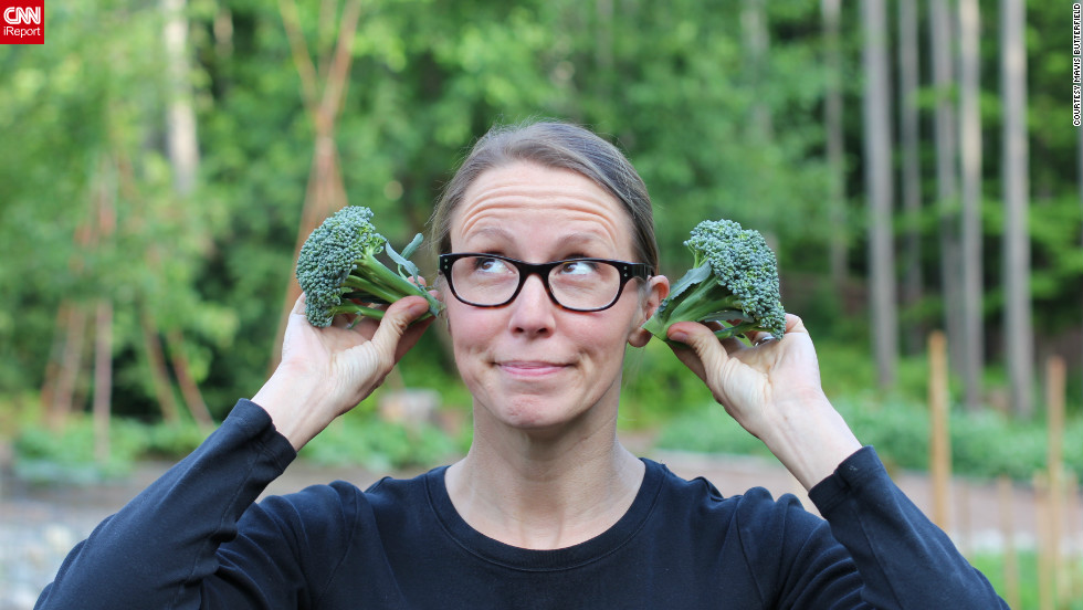 "This was the first year Mavis was able to grow broccoli from seed. ""I must admit, I danced a minor jig in the garden upon seeing the thriving heads of broccoli."""