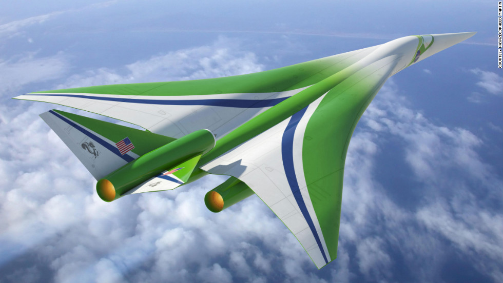 The Lockheed Martin-led team's design for an aircraft that could fly at supersonic speed over land.
