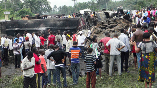 Dozens killed in fuel tanker explosion