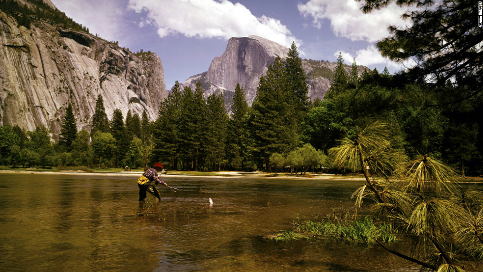Yosemite and other national parks offer a scenic getaway.