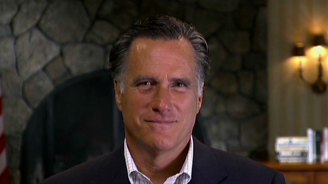 Romney defends Bain departure date
