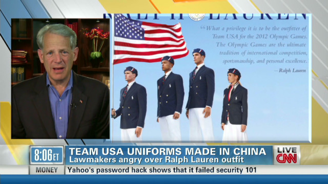 Israel: Team USA uniforms 'a big deal'