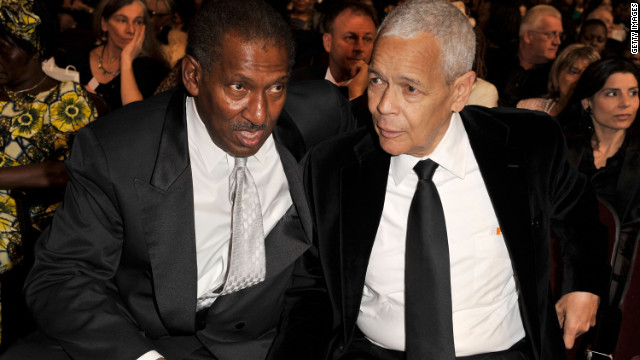 Civil rights pioneer Willis Edwards, left, shown here with Julian Bond at the 40th NAACP Image Awards in 2009, died Friday in Mission Hills, California. He was 66.