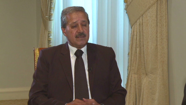 A Syrian ambassador defects