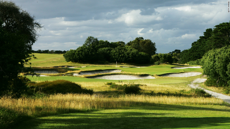 One of few top-ranked courses outside the U.S. and UK, the Royal Melbourne layout was also crafted by MacKenzie. It is the oldest golf club in Australia and famed for its bold bunkers blending into the natural rolling land of the Melbourne Sandbelt.