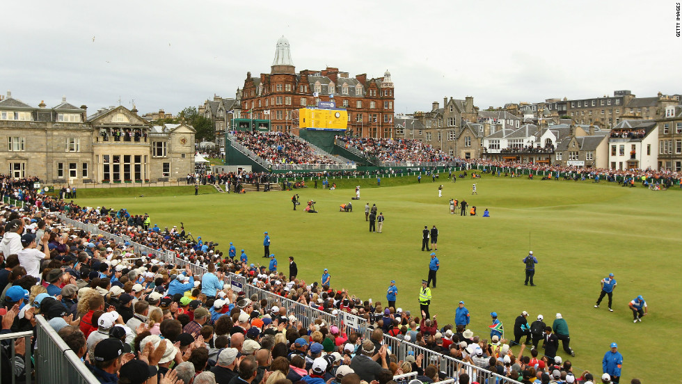 "According to historians, a form of golf has been played over the links land outside the quaint Scottish coastal town of St. Andrews since the 12th century. Not necessarily the most dramatic or challenging course, but the natural beauty and history of ""The Old Course"" make it every golfer's ""must play."""