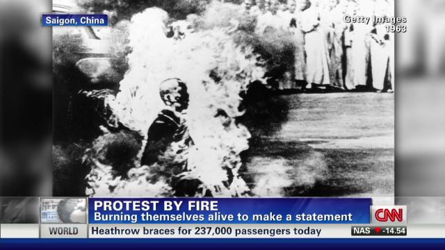 Should Dalai Lama condemn immolations?