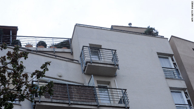 Alleged Nazi war criminal Ladislaus Csizsik-Csatary is believed to live in this building in Budapest, Hungary.
