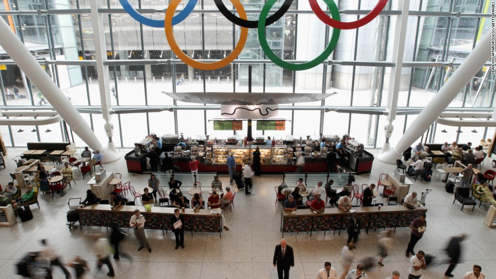 Heathrow coped admirably during the 2012 London Olympics -- catering for almost a quarter of a million people. T5 at the London hub was awarded the honor of best individual terminal.