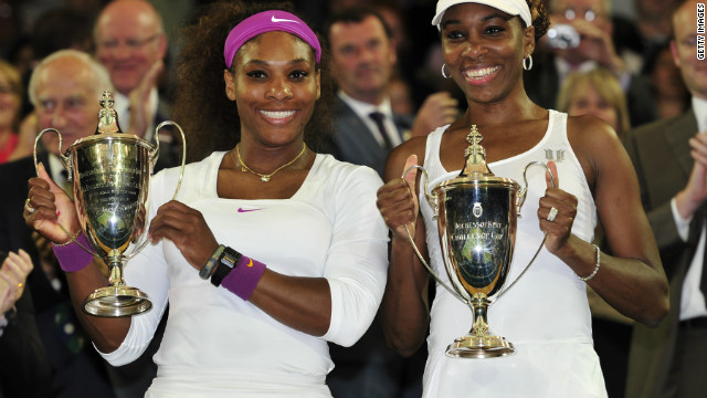 Serena and Venus Williams will be hoping to get their hands on winning trophies at the Brisbane and Auckland events.