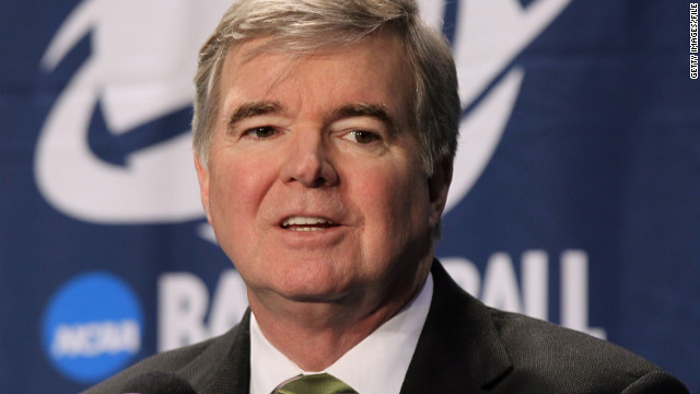 "NCAA President Mark Emmert said he doesn't want to ""take anything off the table"" regarding  penalties for Penn State."