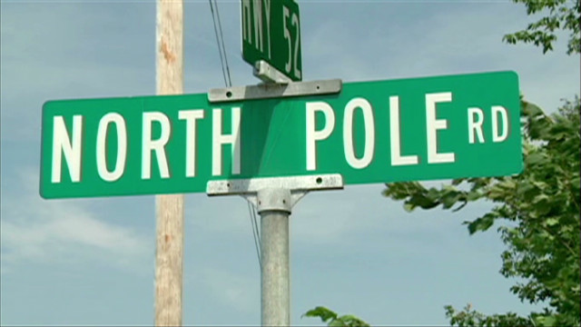 Where it's hot at the North Pole