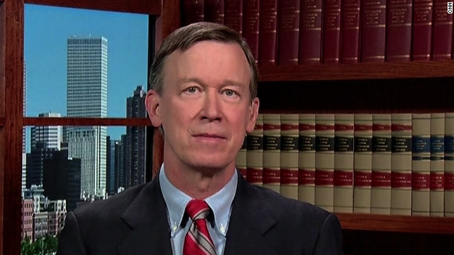 Colorado Gov. John Hickenlooper has one of the highest approval ratings of any governor in the country.