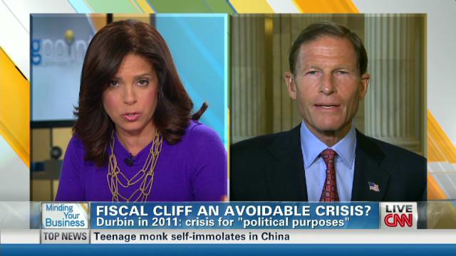 Sen. Blumenthal: Extend tax cuts