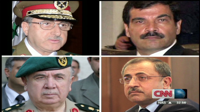 Explosion kills top Syrian officials