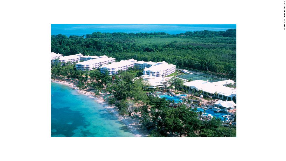 "Head out to Negril on the far western tip of Jamaica to find the lively ClubHotel Riu. <a href=""http://www.budgettravel.com/slideshow/photos-best-budget-beachfront-all-inclusives,8613/ "" target=""_blank"">See more photos of the resorts at BudgetTravel.com</a>"