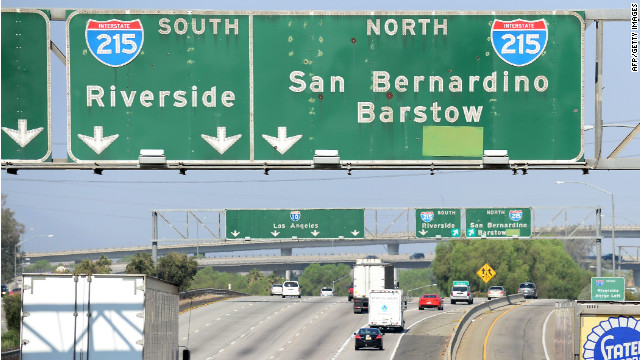 The city of San Bernardino, California, is $45 million in the hole and may declare bankruptcy.