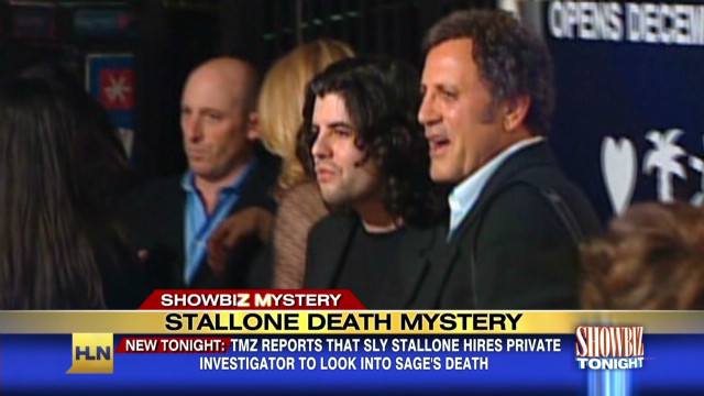 Stallone seeks answers in son's death