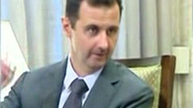 Syrian TV shows new video of al-Assad