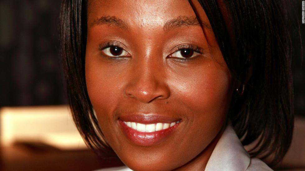 Rapelang Rabana, co-founder of Yeigo, South Africa's first mobile VoIP.  company.