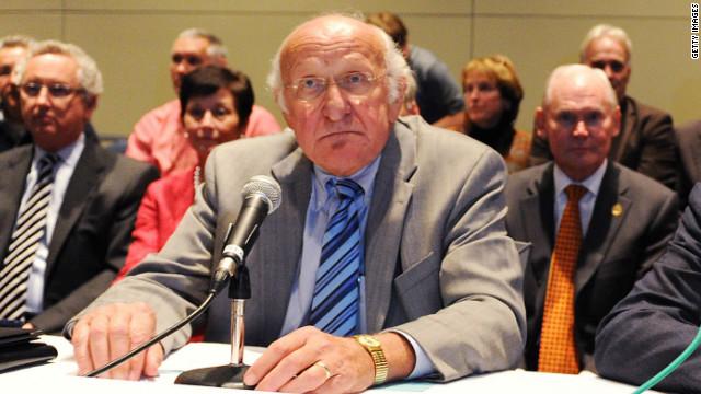 Steve Garban was chairman of Penn State's Board of Trustees when news of the Sandusky scandal broke last year.