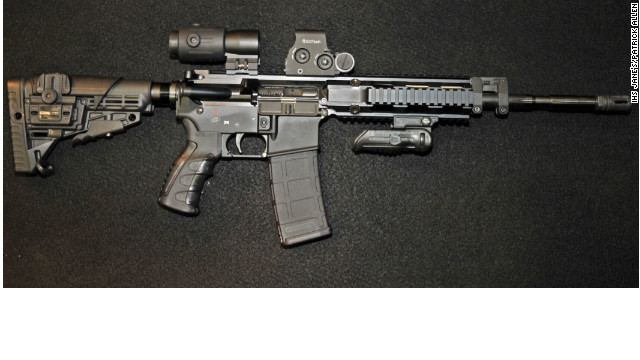 AR-15 rifles come in many different, customizable forms.