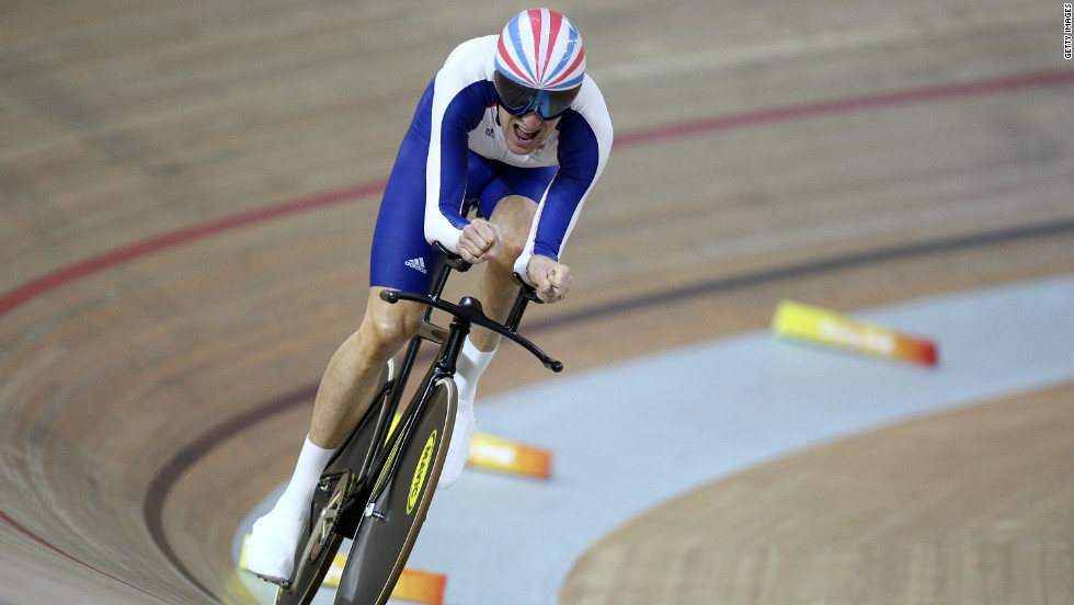His second came courtesy of a successful defense of his 4km individual pursuit title.