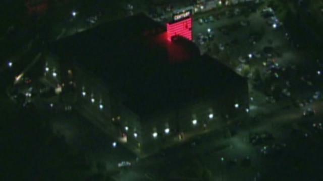 Witness: People bleeding in theater