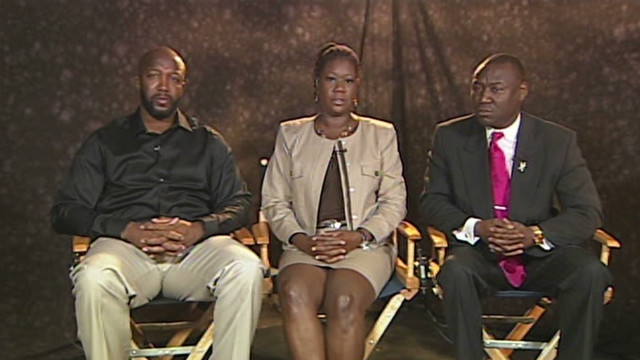 It's Trayvon Martin's parents' turn