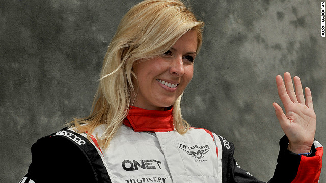 Marussia test driver Maria de Villota has been discharged from hospital in the UK and returned home to Spain