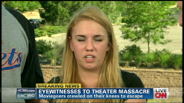 Shooting witness thought attack was joke