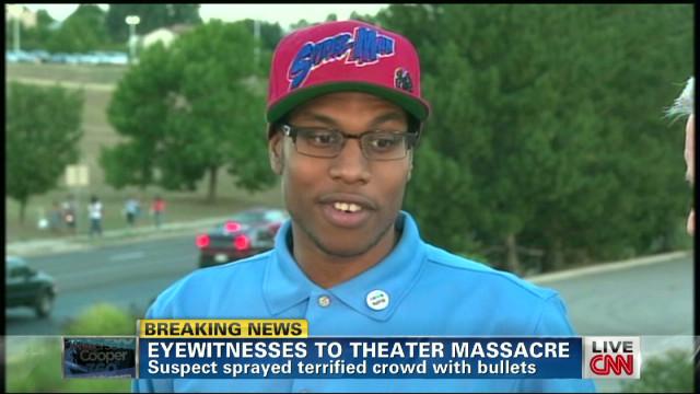 Shooting witness: Killer was stoic