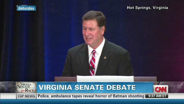 VA Senate candidates debate gun control