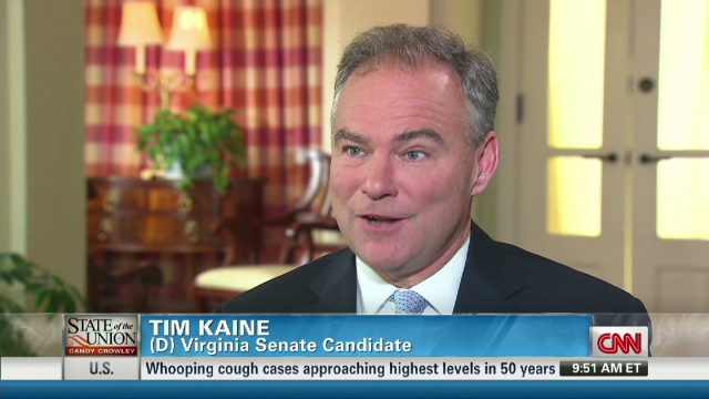 Kaine: VA looking for bipartisanship