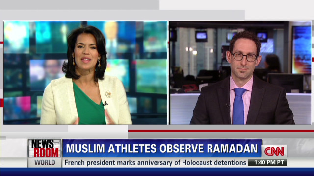 Muslim Olympians face fasting dilemma