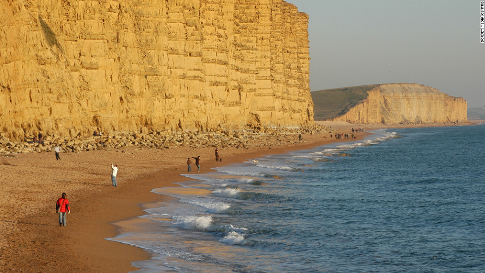 "Weymouth, which is hosting the sailing events at the London 2012 Olympics, is located on the ""Jurassic Coast"" -- a rocky and dramatic 153 kilometer coastline in the south of England."
