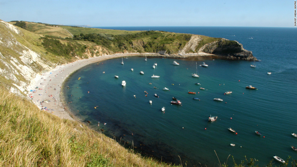 The Lulworth Cove not far from Weymouth  is considered one of world's finest examples of a cove formation and attracts half a million tourists a year.