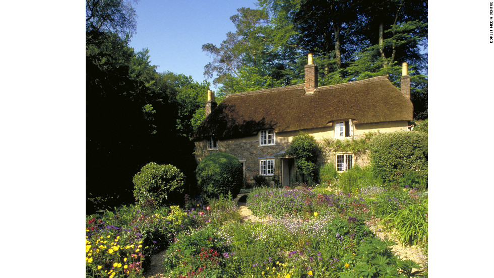 One of Dorset's most famous figures is the novelist Thomas Hardy (1840-1928) who was born and lived most of his life in the county. You can still visit the small cob and thatch cottage where he was born and wrote his early novels.