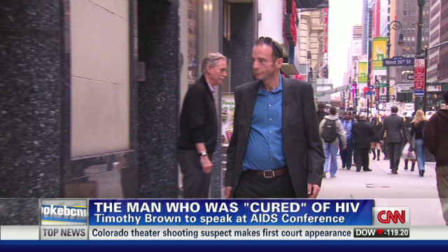The man 'cured' of HIV