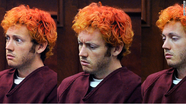 Accused movie theater shooter James Holmes makes his first court appearance on Monday in Centennial, Colorado.