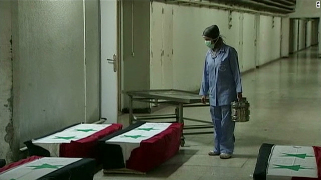 Damascus hospital under fire