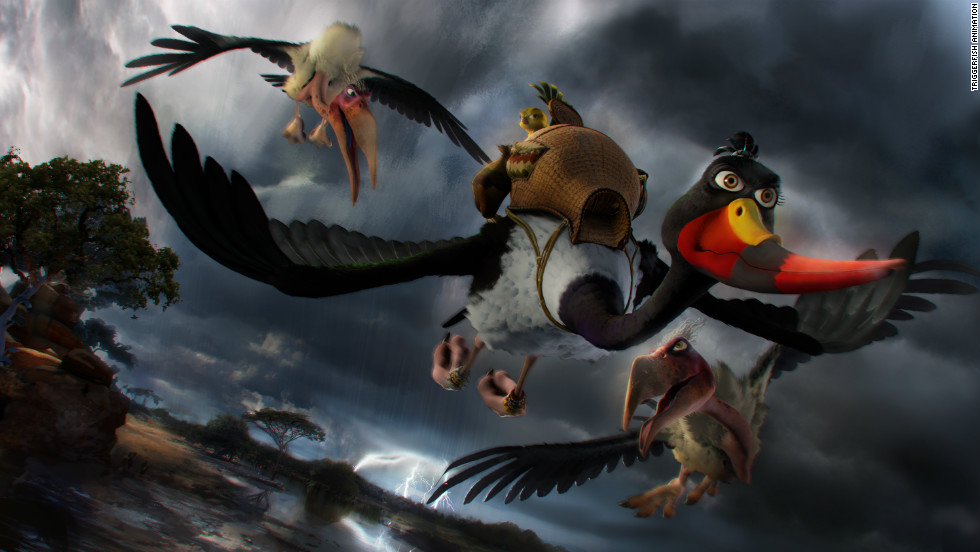 """Zambezia,"" produced by Cape Town-based Triggerfish Animation Studios, has been chosen to close this year's Durban International Film Festival."